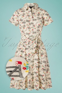 Pretty Vacant 31445 Swingdress Debbie Mail Cream Floral 10252019 007 Z