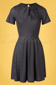 Vixen 32976 Swingdress Black Bently Polkadot 11112019 003W