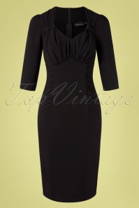 Vixen 32966 Pencildress Black Camilla 11112019 001W