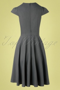 Vixen 32982 Swingdress Grey Geneva Cutout 11112019 006W