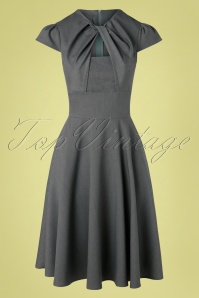Vixen 32982 Swingdress Grey Geneva Cutout 11112019 002W