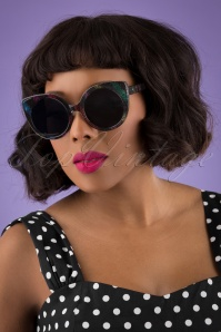 Collectif 31860 Yolanda Disco Sunglasses Black 040M W