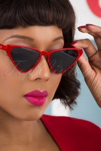 Collectif 31859 Terri Sunglasses Red 041M W