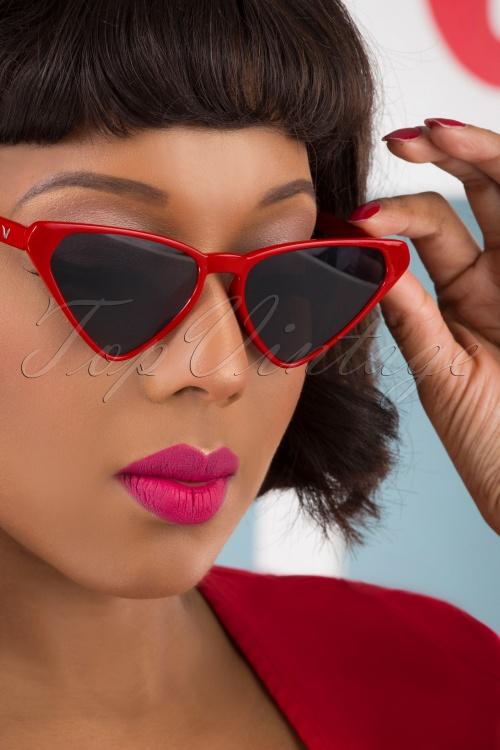 Collectif 31859 Terri Sunglasses Red 041M W