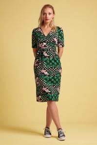 KingLouie 31735 Anja Hollywood Dress in Black 20200130 020L