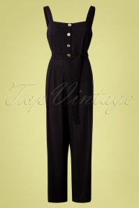 King Louie 31770 Ines Jumpsuit Verona in Black 20191206 0004W