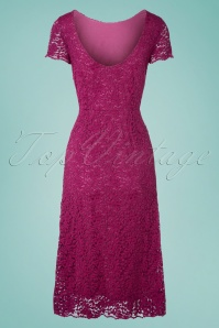 King Louie  31783 Sally Dress Malaga Sparkling Fuschia 20191202 005W
