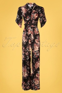 Miss Candyfloss 33303 Jumpsuit Black 200123 006 W