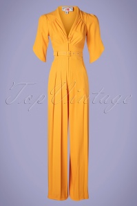 Miss Candyfloss 33304 Jumpsuit Yellow 200123 017 W