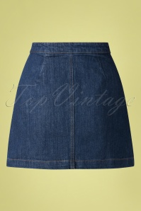 King Louie 31668 Skirt Sailor Blue Denim 01302020 006W