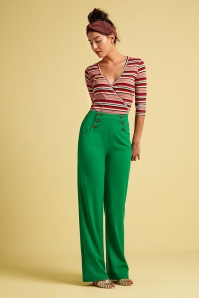 KingLouie 31679 Sailor Broadway Pants in Very Green 20200130 020L