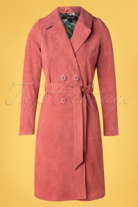 King Louie 31704 Coat Dusty Rose Mia Leather 01302020 005 W