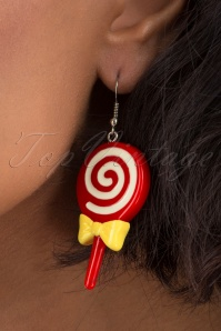 Collectif 31842 Fun Fair Candy Earrings Red 041M W