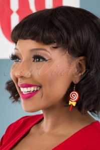 Collectif 31842 Fun Fair Candy Earrings Red 040M W