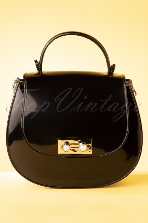 Darling Divine 33395 Handbag Black Plastic 01292020 008 W