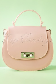 50s Not Your Average Handbag in Dusty Pink