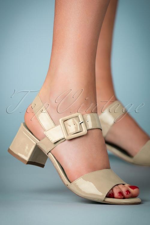 Tamaris 32345 Sandel Creme Heels 180425 010