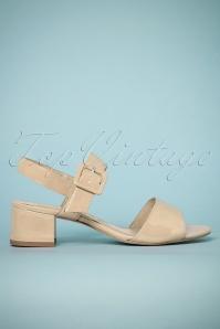 Tamaris 32345 Sandel Creme Heels 180423 002