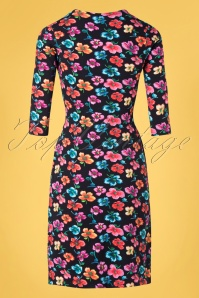 Lien Giel 31421 Alinedress Flowers Black 02032020 007W