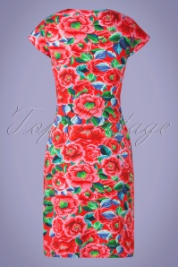 Lien Giel 31424 Alinedress Flowers Red 02032020 009W