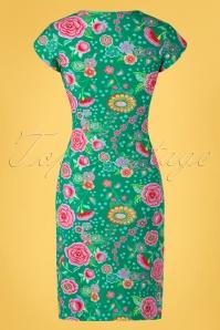 Lien Giel 31423 Alinedress Flowers Green 02032020 008W