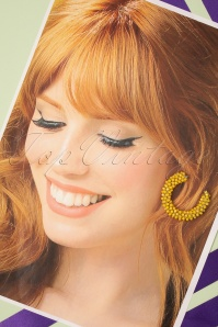 Glamfemme 33532 Yellow Sunshine Earrings 200131 012 W