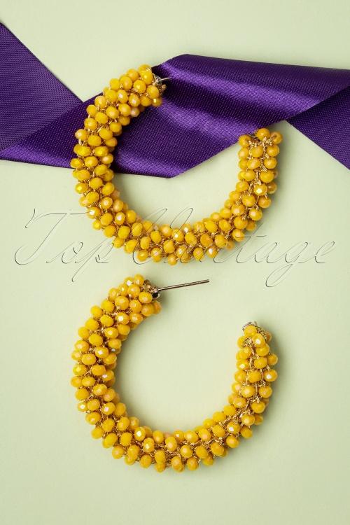 Glamfemme 33532 Yellow Sunshine Earrings 200131 005 W