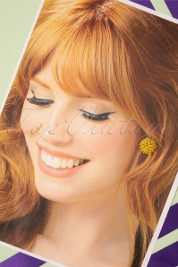 Glamfemme 33556 Sunshine Studs Yellow 200131 006 W