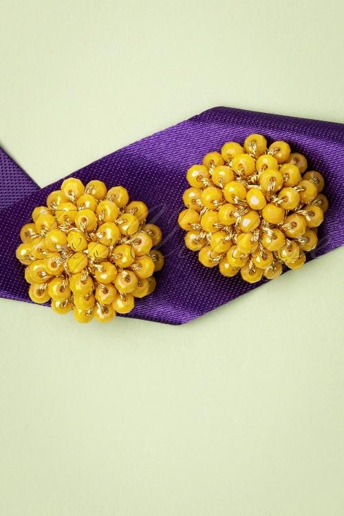 Glamfemme 33556 Sunshine Studs Yellow 200131 003 W