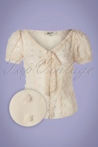 Belsira 33438 Blouse White Transparent 02032020 002Z