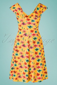 Lien Giel 31420 Swingdress Yellow Flowers 02032020 012W