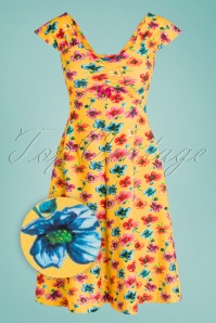 Lien Giel 31420 Swingdress Yellow Flowers 02032020 003Z