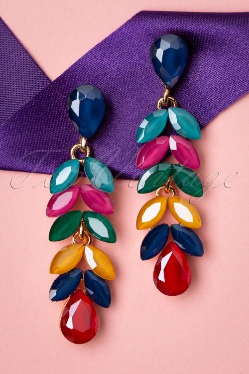 Glamfemme 33547 Multi Colour Earrings Studs 200131 005 W