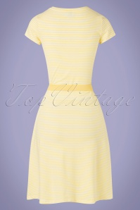 Mademoiselle YéYé 31946 Alijn Dress OhYeah Yellow 20200204 008W