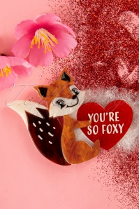 Erstwilder TopVintage exclusive ~ 60s You're So Foxy Brooch