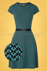 Mademoiselle YéYé 31947 Aline Dress OhYeah Black 20200204 002Z