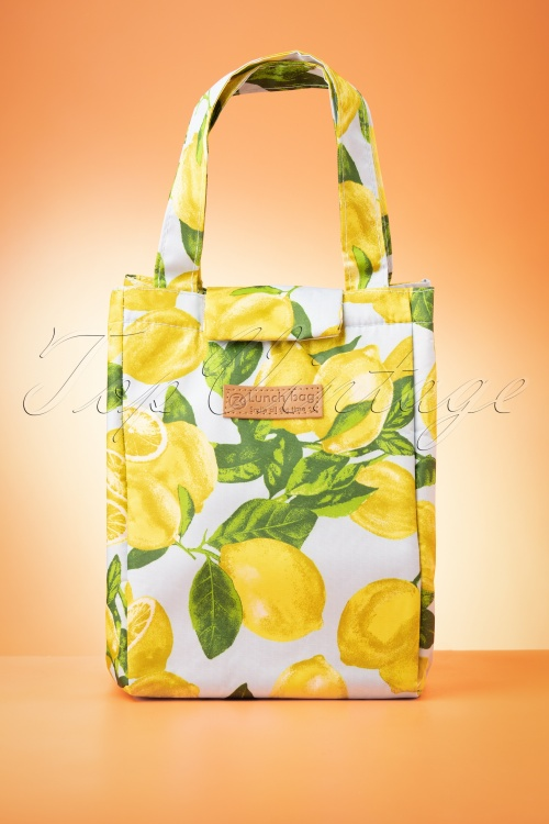 Darling Divine 33400 Lunchbag Lemons Blue 02052020 003W