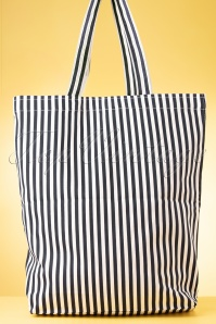 Mademoisele Yeye 31967 Bag Stripes Kiss Lips Black White 02052020 015 W