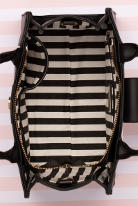 Lola Ramona 30259 Handbag Vivi Stripes Black White 02052020 015 W