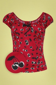 Bunny 32579 Alison Top Red 020LZ