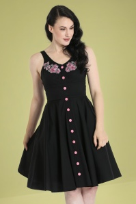 Bunny 32565 Lucy Mid Dress Black 024L