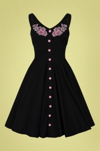 Bunny 32565 Lucy Mid Dress Black 020LW