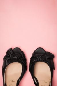 Tamaris 32349 Black heels Pump Bow 200205 015