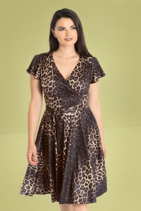 Bunny 32549 Eartha Dress Leopard 023L