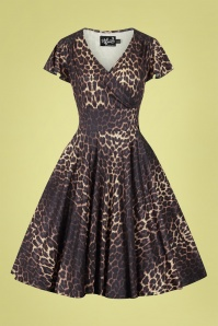 Bunny 32549 Eartha Dress Leopard 022LW