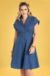 Bunny 32562 Freddie Dress Blue 023L