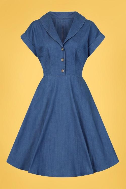 Bunny 32562 Freddie Dress Blue 020LW