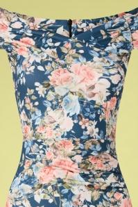 Vintage Chic 33483 Pencildress Bodycon Floral 02062020 002V