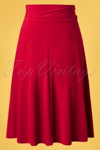 Vintage Chic 33443 Swingskirt Red Ribbon 02062020 008 W