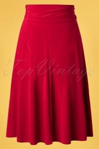 Vintage Chic 33443 Swingskirt Red Ribbon 02062020 008 W